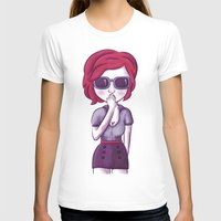 pin up T-shirts featuring Pin up by Ainaragm