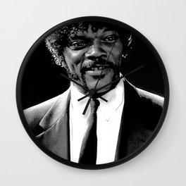 Jules Winnfield Portrait Wall Clock