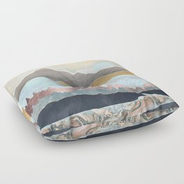 Winter Light Floor Pillow