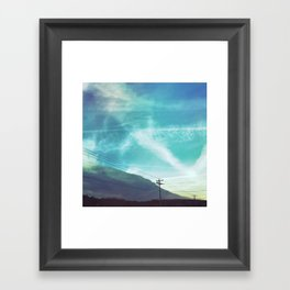 incoming Framed Art Print