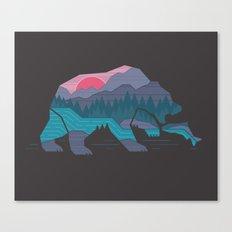Bear Country Canvas Print