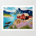 Lofoten Islands, Norway by artvondanielle
