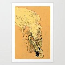 mr. Autumn Art Print