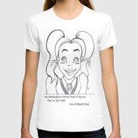 hufflepuff T-shirts featuring Hufflepuff Chick by ArtRhapsody