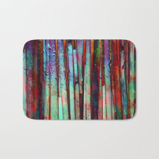 Colored Bamboo 2 Bath Mat