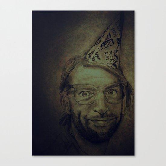 Happy Fucking Birthday Canvas Print