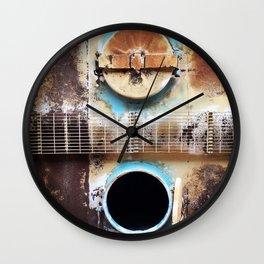 Open & Shut Wall Clock