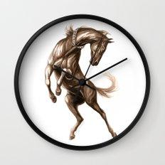 Ink Horse Wall Clock