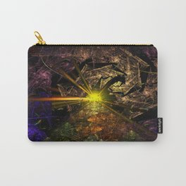 Machu Picchu 3D Fractal Carry-All Pouch