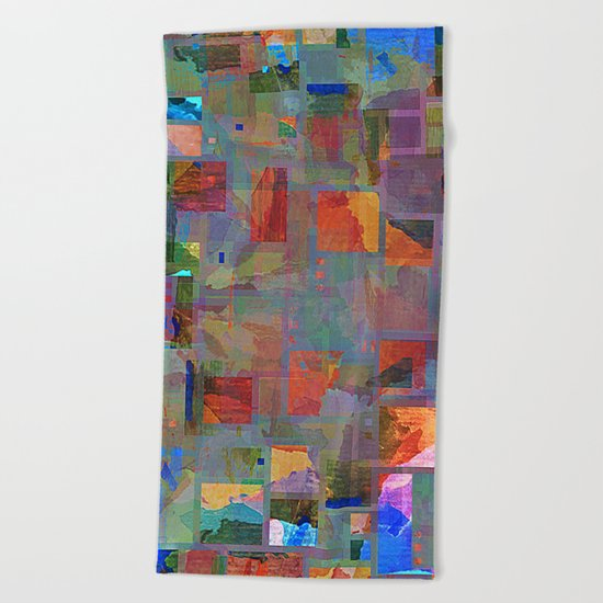 the patch Beach Towel