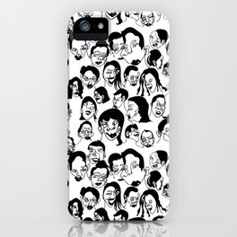 The people (pt2) iPhone Case