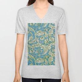 William Morris - Cornflower - Digital Remastered Edition Unisex V-Neck
