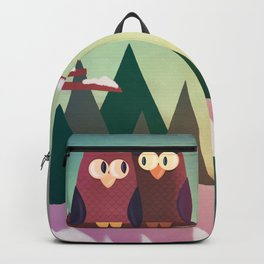Twilight In The Woods Backpack