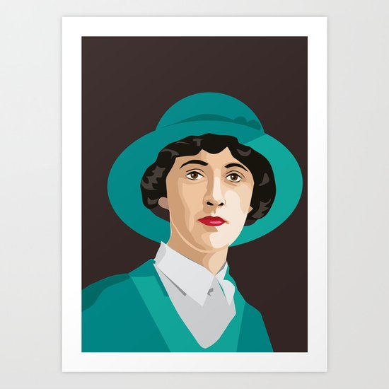Agatha Christie by yellow-studio