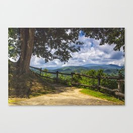Valley Overlook Canvas Print