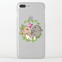 Together animals Clear iPhone Case