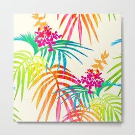 Bright Tropical Metal Print