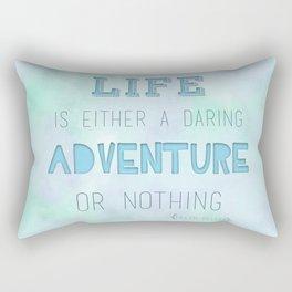 Life Adventure Rectangular Pillow