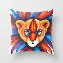Just Can't Wait To Be King Throw Pillow