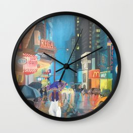Agrabah, New York Wall Clock