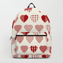 AFE Red Hearts Backpack