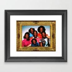 The Cosbys Framed Art Print