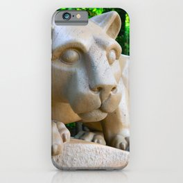 Nittany Lion Statue Print iPhone Case