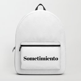Sometimiento Backpack