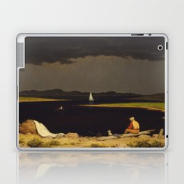 Approaching Thunder Storm Painting By Martin Johnson Heade Laptop & iPad Skin