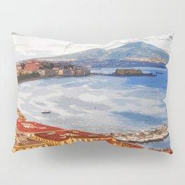 Italy. The Bay of Napoli Pillow Sham