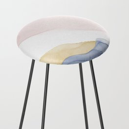 Dream Collection _ Blue Counter Stool