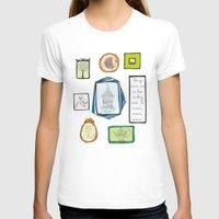 frames T-shirts featuring Frames by Duru Eksioglu