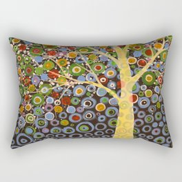 Garden of Moons #1 Rectangular Pillow