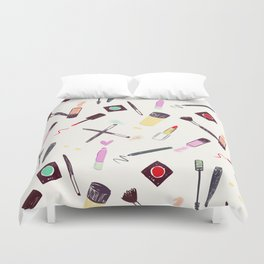 Let's Make-up! Duvet Cover