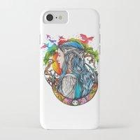 celtic iPhone & iPod Cases featuring Celtic elf by Raquel C. Hita - Sednae
