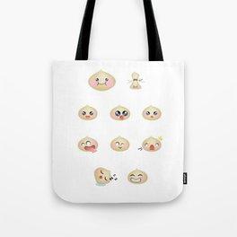 Dumpling Faces Tote Bag