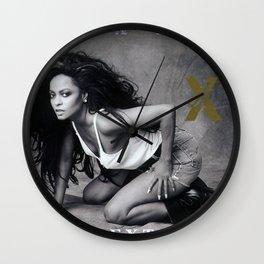 diana ross album 2020 atin4 Wall Clock
