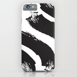 abstract geometry wave iPhone Case