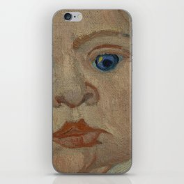 Portrait of Marcelle Roulin iPhone Skin