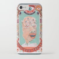 monster iPhone & iPod Cases featuring Monster Focals by Valeriya Volkova