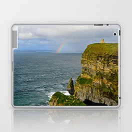 Cliffs of Moher Rainbow Laptop & iPad Skin