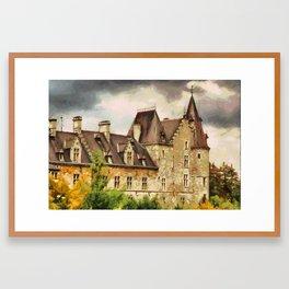 Château de Fallais Framed Art Print
