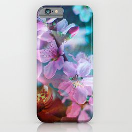 Double Flowers iPhone Case