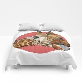 girafraide of triangles, aren't you? Comforters