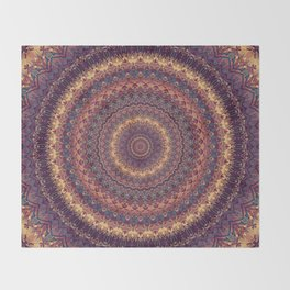 Mandala 590 Throw Blanket