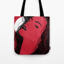 Feel the moon Tote Bag