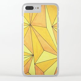 Mountains of Gold Clear iPhone Case