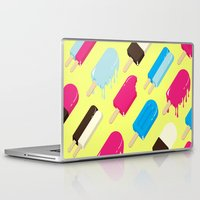 popsicle Laptop & iPad Skins featuring Popsicle by Sher Mavro ART