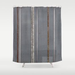 Mesh 03 Shower Curtain