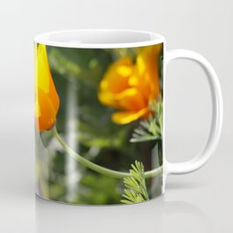 Sunlit Eschscholzia californica Coffee Mug